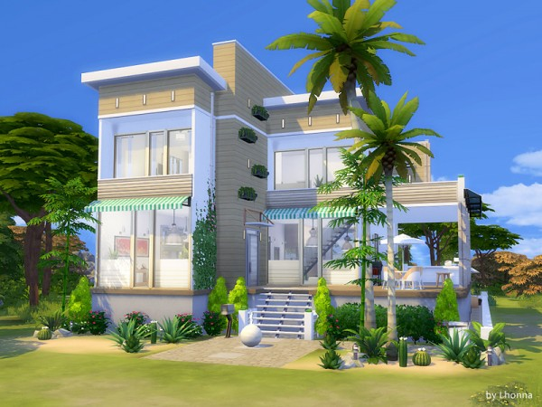 how to download houses sims 4