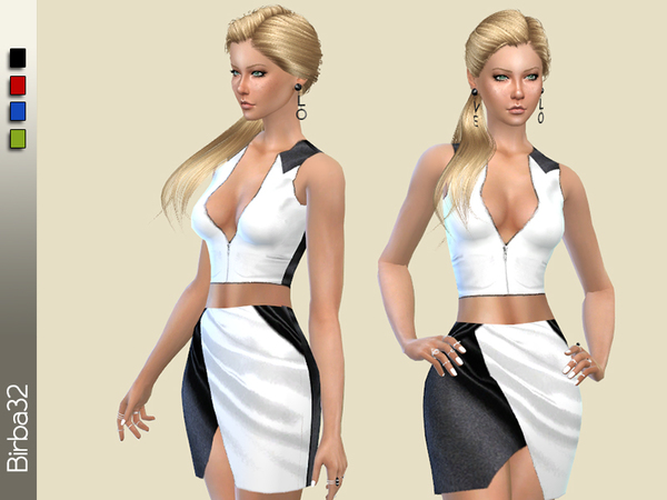 The Sims Resource: Tessa Dress by Birba32