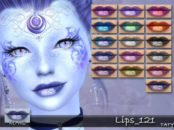 Simsworkshop: Lips 121 by Taty