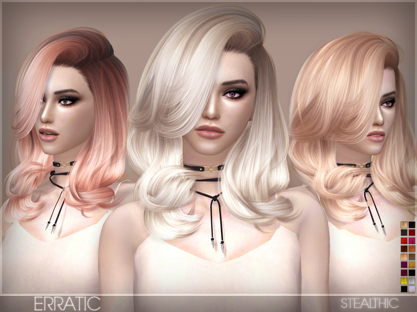 The Sims Resource: Stealthic   Erratic hairstyle