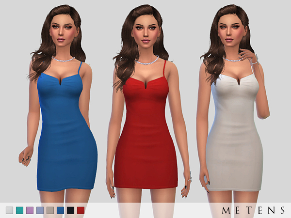 The Sims Resource: Solis Dress by Metens