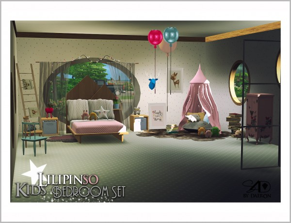 Sims 4 Designs: Lilipinso Kids Bedroom Set