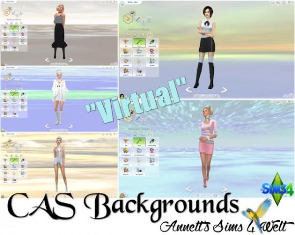 Annett`s Sims 4 Welt: CAS Backgrounds Virtual