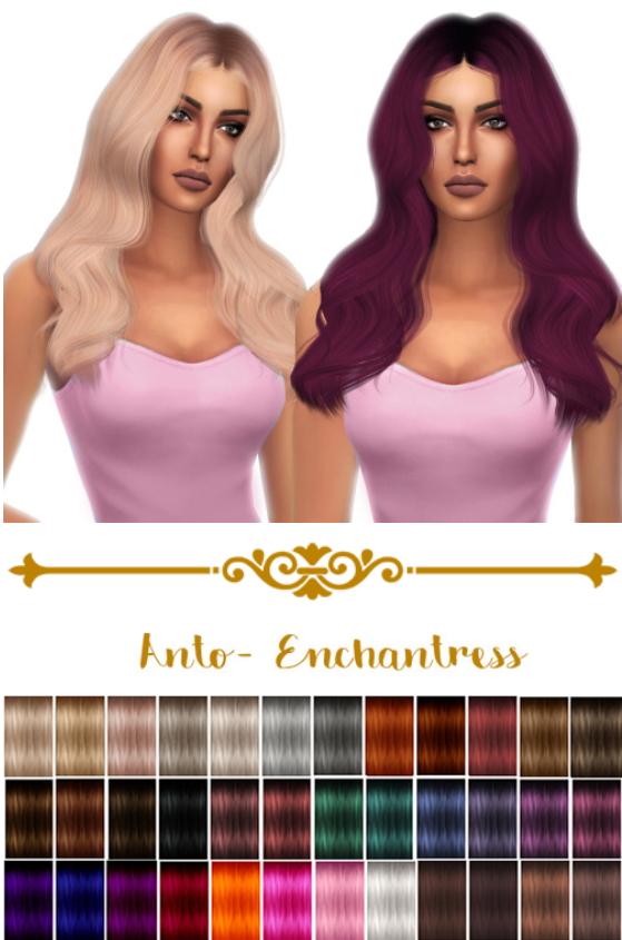 Kenzar Sims: Anto`s Enchantress hair retextured