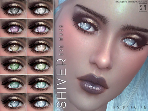 The Sims Resource: Shiver   Eye Mask by Screaming Mustard