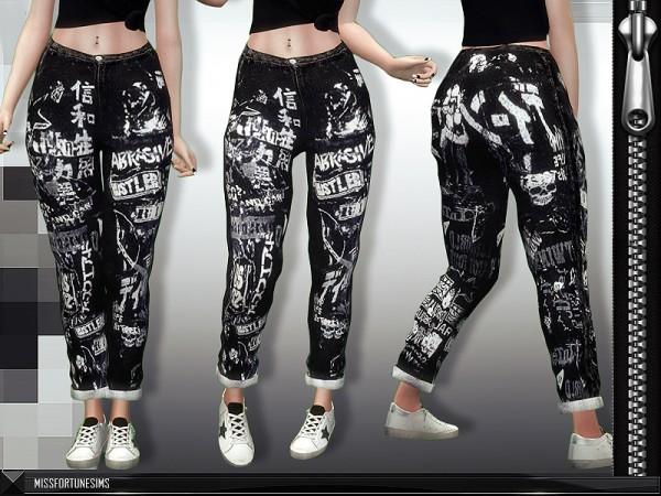 MissFortune Sims: Ryoko Jeans