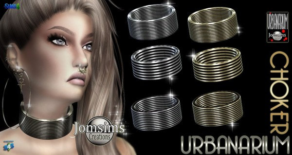 Jom Sims Creations: Urbanarium choker