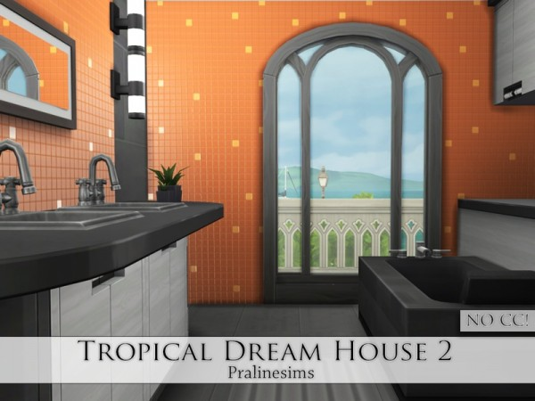 The Sims Resource: Tropical Dream House 2 by Pralinesims