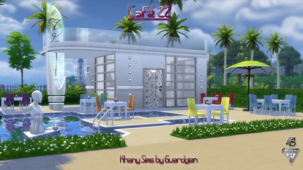 Khany Sims: Le 22 Cafe by Guardgian
