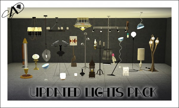 Sims Designs Lights Pack