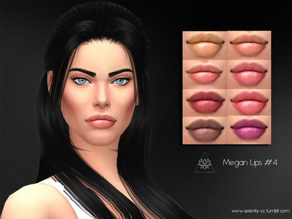 The Sims Resource: Megan Lips 4 by serenity cc