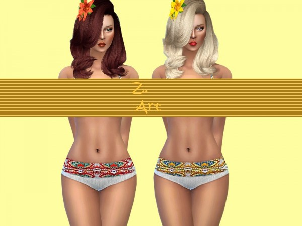 The Sims Resource: Paisley Set by Zuckerschnute20