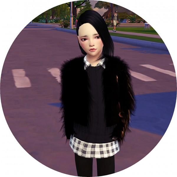 sims4 marigold fur jacket � sims 4 downloads