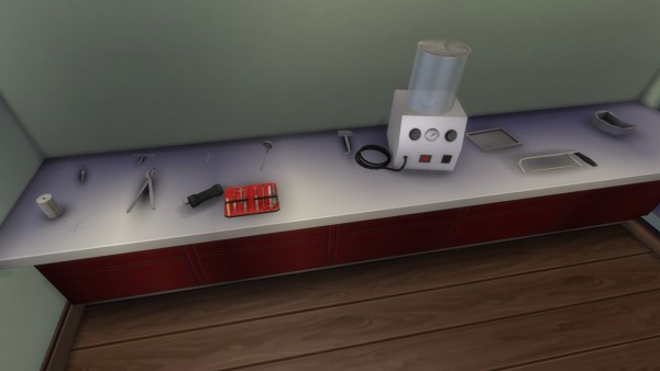 Mod The Sims: Embalming and autopsy instruments by necrodog