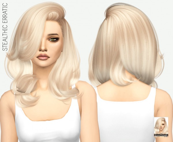 Miss Paraply: Stealthic   Erratic hairstyle retextured