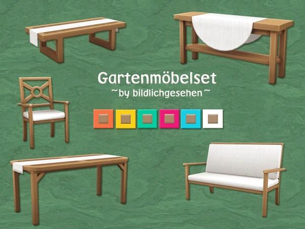 Akisima Sims Blog: Garden furniture set