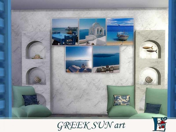 The Sims Resource: Greek Sun art by Evi