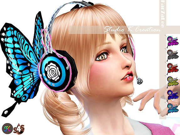 Studio K Creation: Butterfly headphone