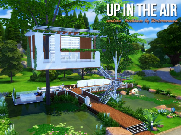 Akisima Sims Blog: Up In The Air – Treehouse