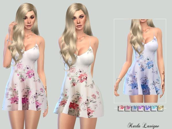 The Sims Resource: Karina Dress by Karla Lavigne