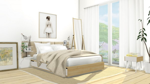 MXIMS: IKEA Mandal Bedroom Set