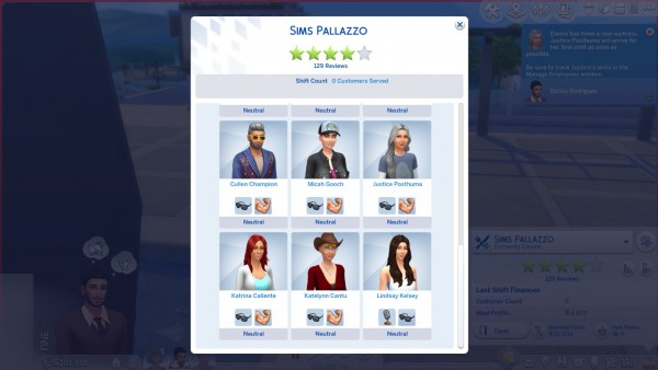 Mod The Sims: Additional Waiter 3, 4, and 5 by rbarkah