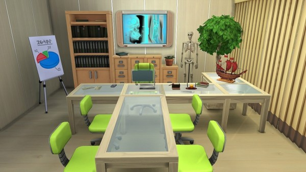 Ihelen Sims: Family clinic by Dolkin no CC