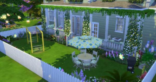 Blackys Sims 4 Zoo: Wisteria Sims Lane by Sims Atelier