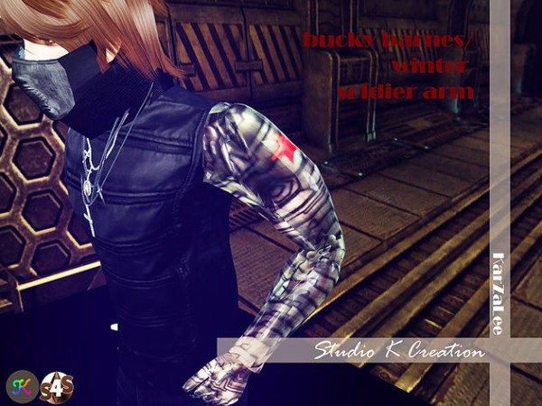 Studio K Creation: Bucky Barnes winter Soldier arm