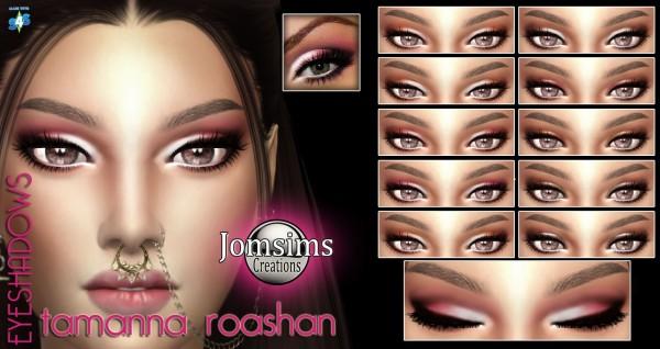 Jom Sims Creations: Tamanna roashan eyeshadow