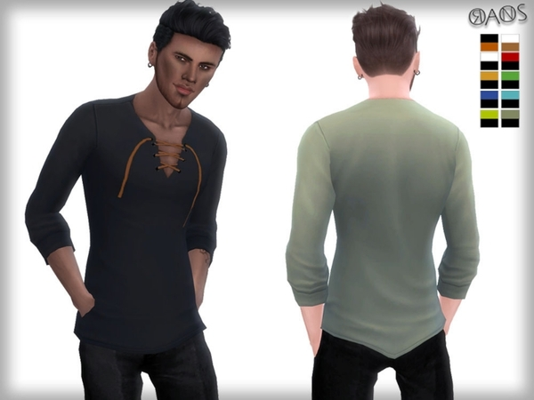 The Sims Resource: Viscose Shirt by OranosTR