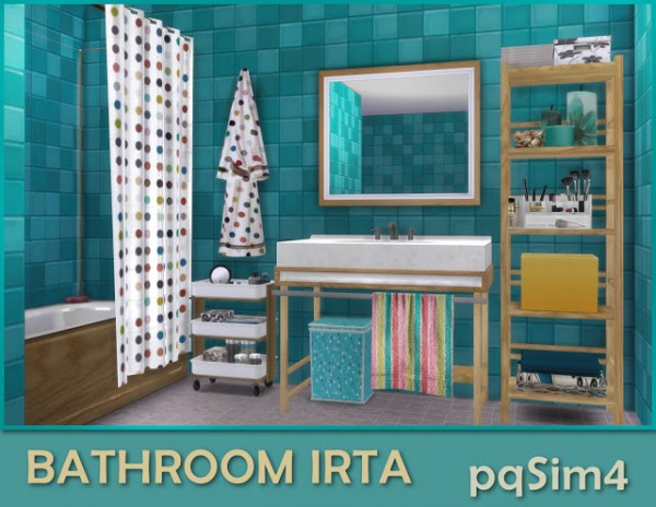 PQSims4: Bathroom Irta