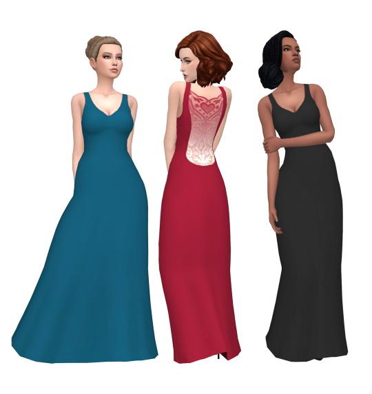 Deelitefulsimmer: Slim and sleek dress recolor