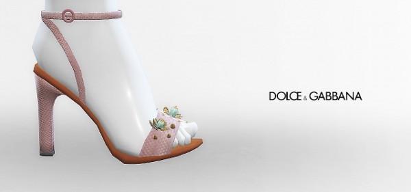 MA$ims 3: Jewel Flower Sandals