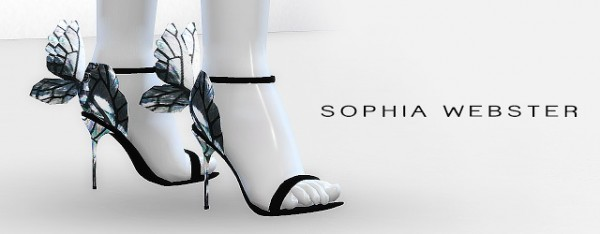 MA$ims 3: Butterfly Sandals