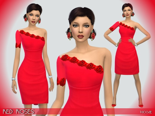 The Sims Resource: Red Roses by Paogae