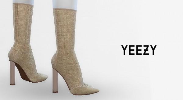 MA$ims 3: Yeezy Season 3 Boots