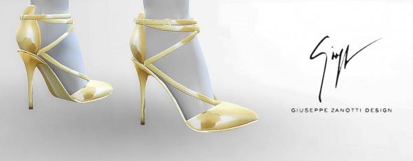 MA$ims 3: Metallic Sandals