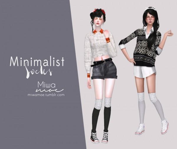 Miwamoe: Minimalist Socks