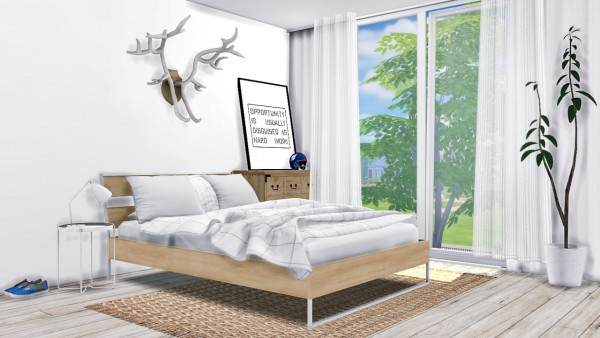 Mxims Bedroom 11 Sims 4 Downloads