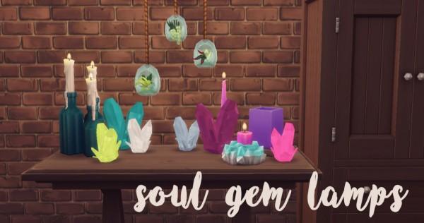 Hamburgercakes: Soul Gem Lamps