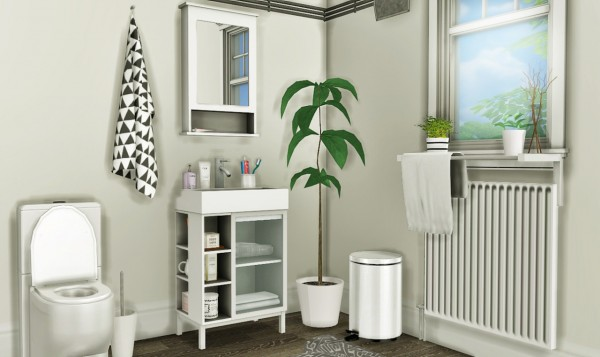 Mxims Ikea Lill 197 Ngen Bathroom Set Sims 4 Downloads