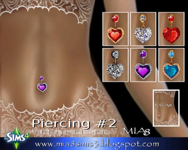 MIA8: Earrings, Neckalce, Rings, Piercing