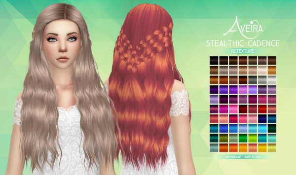 Aveira Sims 4: Stealthic`s Cadence hairstyle