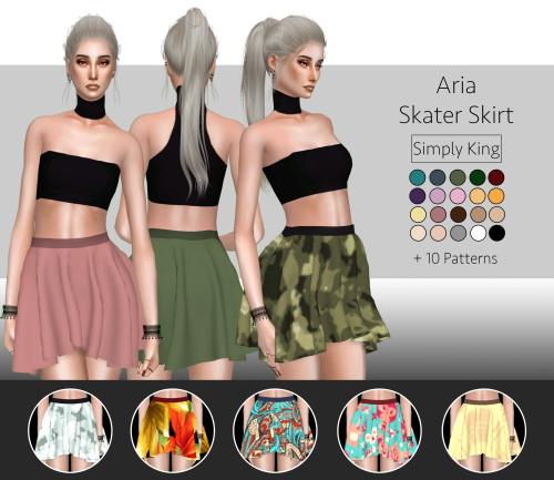Simply King: Aria Skater Skirt