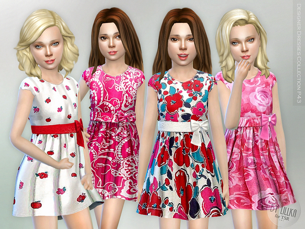 The Sims Resource: Designer Dresses Collection P43 by lillka