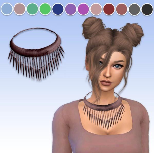 Arthurlumierecc: Spike necklace