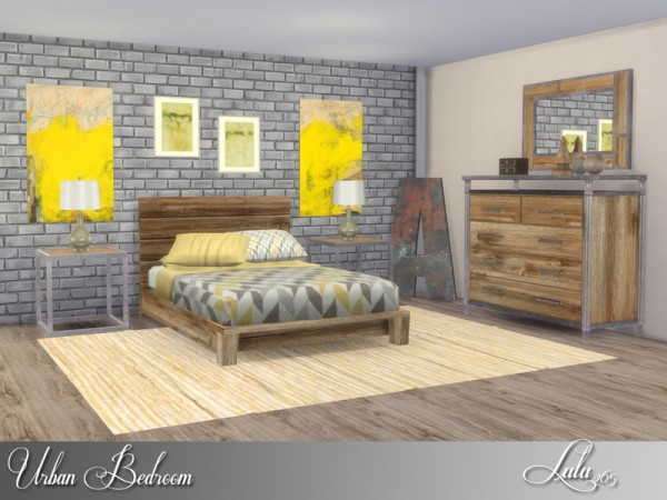 The Sims Resource: Urban Bedroom by Lulu265