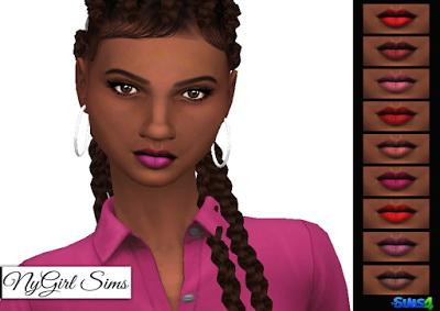 NY Girl Sims: Lipstick N03
