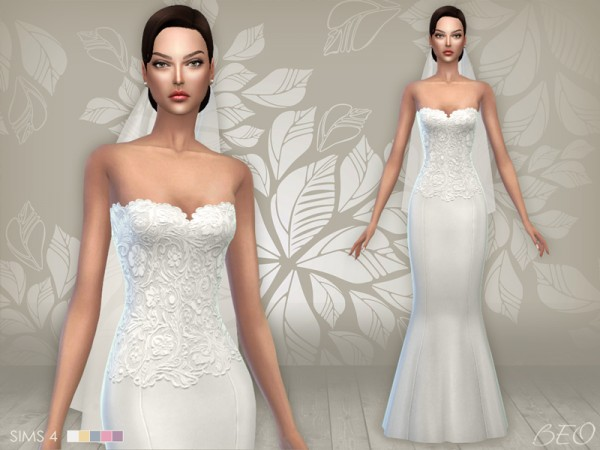 Wedding dresses for sims 4 : Monysousa wedding dresses pack sims downloads